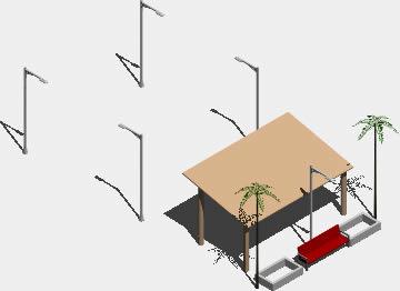 Planos de Patio de exposiciones 3d, en Centros culturales salas de exposición museos y stands – Proyectos