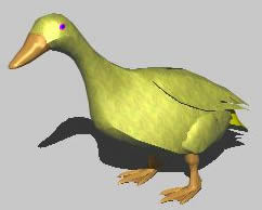 imagen Pato 3d, en Animales 3d - Animales