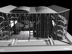 Pavellon sevilla 3d, en Auditorios cines – Proyectos