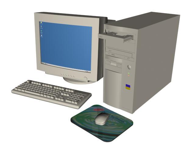 Pc 3d, en Informática – Muebles equipamiento