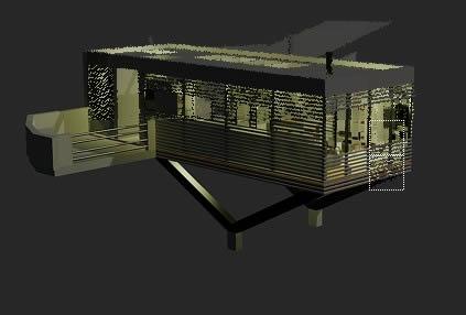 imagen Pequeño albergue 3d, en Vivienda unifamiliar 3d - Proyectos