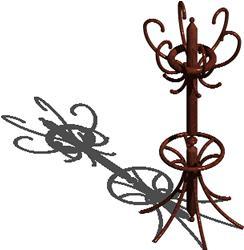 Planos de Perchero, en Muebles varios – Muebles equipamiento
