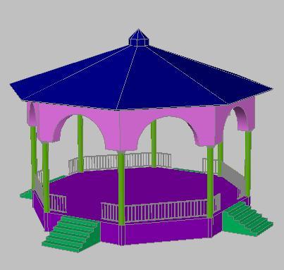 Planos de Pergola de jardin 3d, en Pérgolas fuentes y elementos decorativos – Parques paseos y jardines
