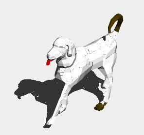 Planos de Perro 3d, en Animales 3d – Animales
