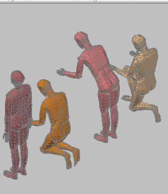 Planos de Persona 3dm, en 3d – Personas
