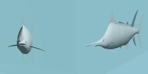 imagen Pez 3d, en Animales 3d - Animales