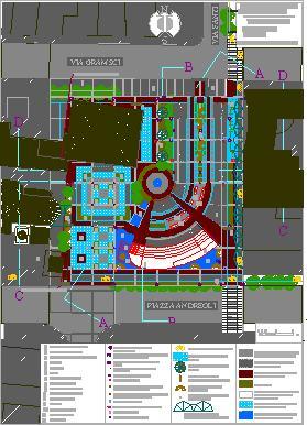 Planos de Piazza san possidonio 01, en Centros y parques recreativos – Proyectos