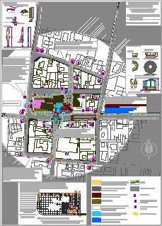 Planos de Piazza san possidonio 02, en Centros y parques recreativos – Proyectos
