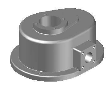 Planos de Pieza mecanica 3d, en Maquinaria – proyectos varios – Máquinas instalaciones