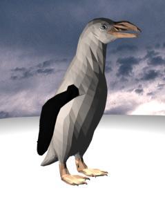 Piingáino 3d, en Animales 3d – Animales