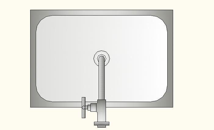 imagen Pileta inox con grifo, en Cocinas - Muebles equipamiento