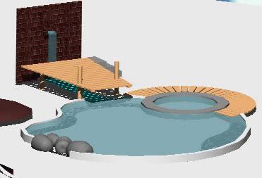 Planos de Piscina 3d, en Proyectos – Piscinas y natatorios