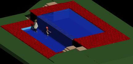 imagen Piscina cascada, en Proyectos - Piscinas y natatorios