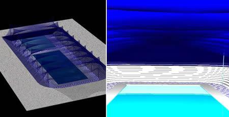 Planos de Piscina cubierta, en Proyectos – Piscinas y natatorios