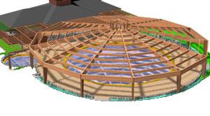 imagen Piscina techada 3d, en Proyectos - Piscinas y natatorios