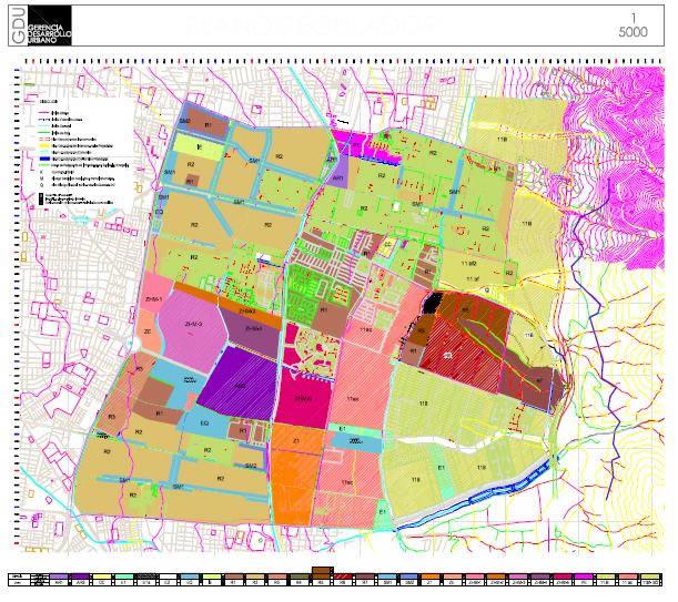 Plan regulador comuna de peualolen, en Chile – Diseño urbano