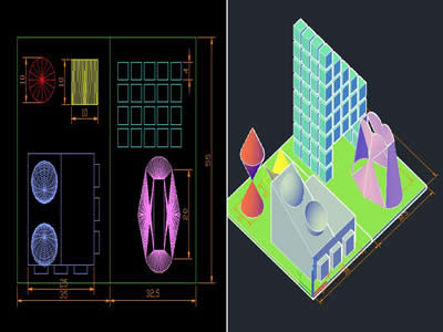 Planos de Plano 3d, en Ejercicios varios – Dibujando con autocad