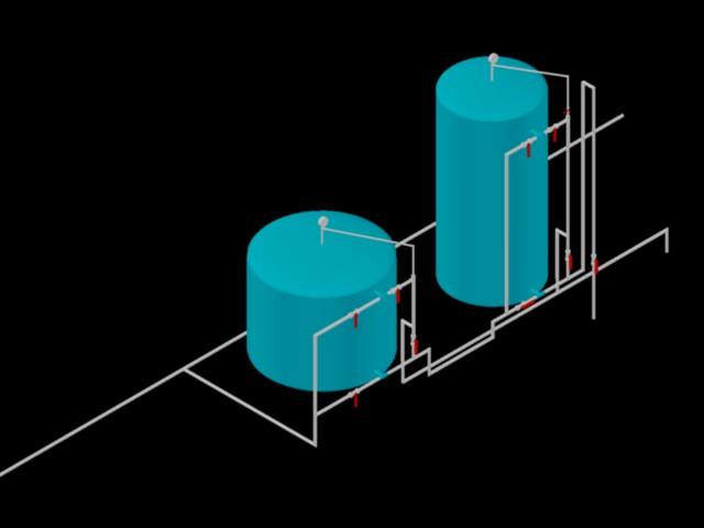 Planos de Planta de tratamiento potabilizadora compacta, en Provisión de gas – Instalaciones