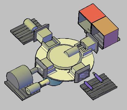 Planos de Planta ensambladora, en Maquinaria e instalaciones industriales – Máquinas instalaciones