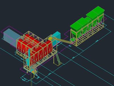 Planos de Planta mecanica, en Industria minera – Máquinas instalaciones