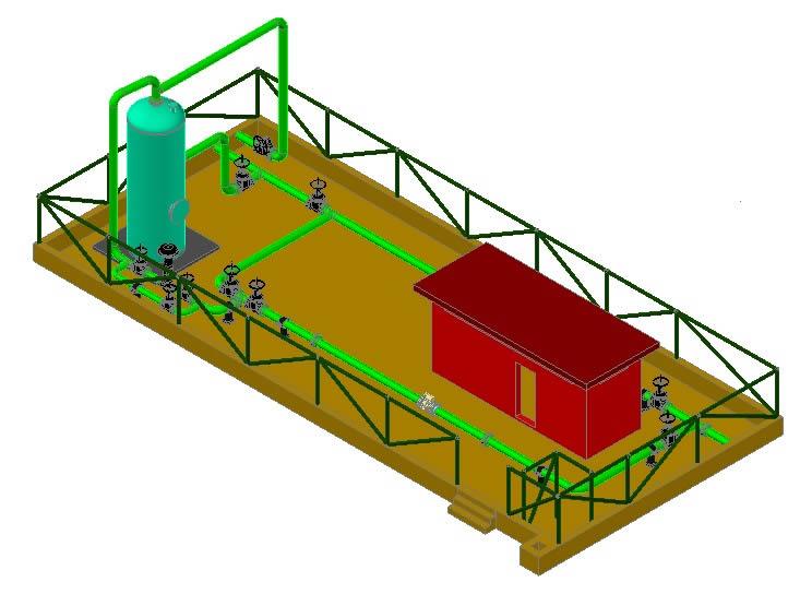 imagen Planta procesadora de gas, en Maquinaria e instalaciones industriales - Máquinas instalaciones