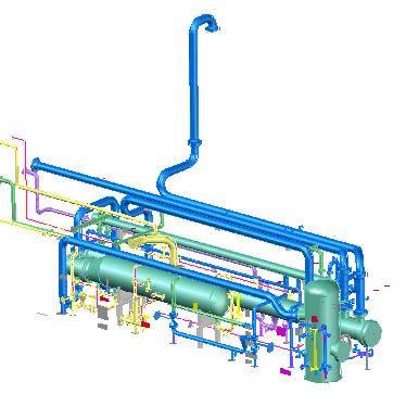 imagen Planta separadora de liquidos, en Industria petrolera - Máquinas instalaciones
