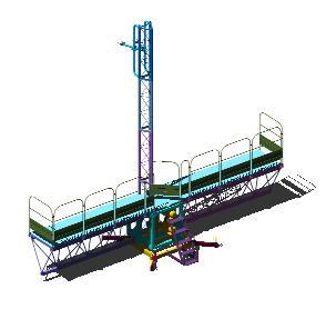 imagen Plataforma y reductor 3d, en Maquinaria - proyectos varios - Máquinas instalaciones