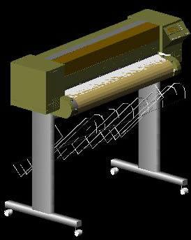 Planos de Ploter hp 650, en Informática – Muebles equipamiento