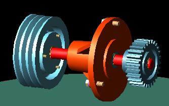 Planos de Polea 3d, en Maquinaria e instalaciones industriales – Máquinas instalaciones