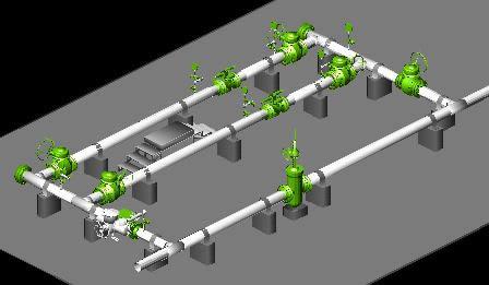 Planos de Poliducto 6 y 8 trampa de diablos 2, en Gas y combustibles – Infraestructura