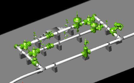 Planos de Poliducto 6 y 8 trampa de diablos, en Gas y combustibles – Infraestructura
