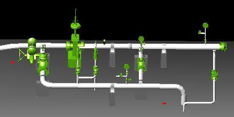 Planos de Poliducto 6 y 8 trampa, en Gas y combustibles – Infraestructura
