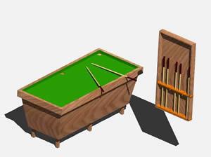imagen Pool 3d, en Bares y restaurants - Muebles equipamiento