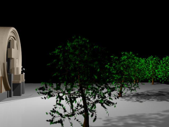 imagen Portada del cementerio de saldungaray 3d, en Proyectos varios - Proyectos
