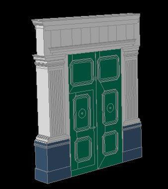 Planos de Portada monumental cajamarca – peru 3d, en Elementos decorativos – Historia