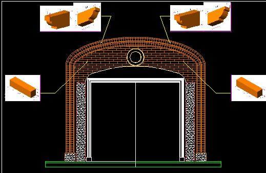 imagen Pórtico de ingreso, en Puertas especiales - Aberturas