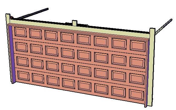 Planos de Porton de garage, en Portones – Aberturas