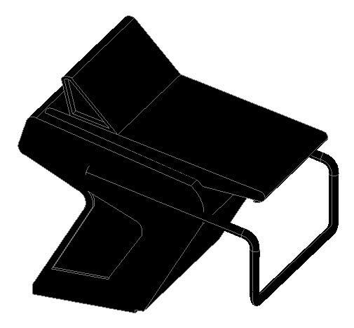 Planos de Poyetebanco de salida, en Accesorios – Piscinas y natatorios