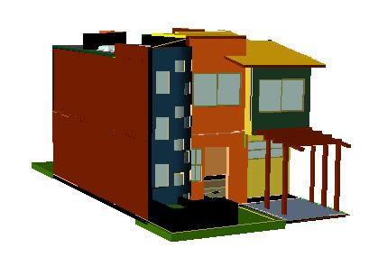 Planos de Proyecto casa habitacion, en Proyectos varios – Proyectos