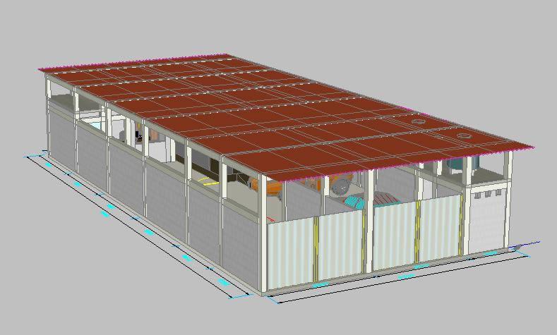 Planos de Proyecto de autoboutique, en Talleres – Proyectos