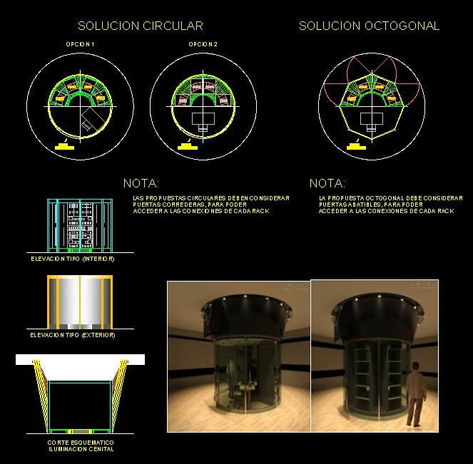 imagen Proyecto de cuarto de sonido, en Proyectos varios - Proyectos