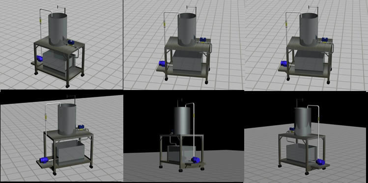Planos de Proyecto de ing. electronica medicion de flujos 3d, en Componentes 3d – Electrónica