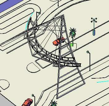 imagen Puente 3 d, en Puentes - Obras viales - diques