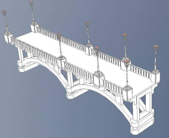 imagen Puente 3d, en Arcos - Detalles constructivos