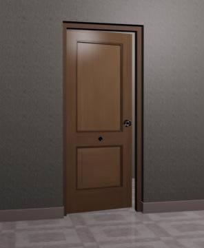 imagen Puerta 0.90x2.10 mts  3d, en Puertas - Aberturas