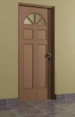 Puerta 0.90×2.10 mts tipo 6, en Puertas 3d – Aberturas