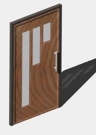 imagen Puerta de entrada_3d, en Puertas 3d - Aberturas