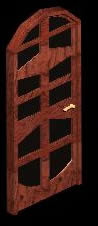 imagen Puerta de madera, en Puertas 3d - Aberturas