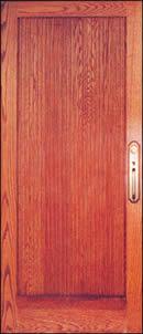 Puerta de madera, en Puertas – fotografías – Aberturas