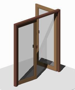 imagen Puerta doble 3d 2.10 x 2.00, en Puertas 3d - Aberturas